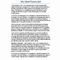 Future Career Plan Example Lovely My Essay In French Pic Planning Goal
