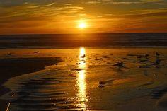 Sunset at Moonlight Beach, Encinitas