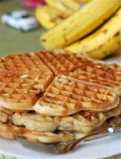 Banana Bread Waffles 2