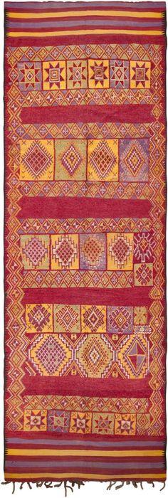 Vintage Moroccan Rug #45751  http://nazmiyalantiquerugs.com/antique-rugs/moroccan-rugs-vintage-carpets/