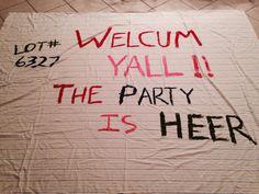Trailer Trash Recipe, Trailer Trash Party, Redneck Birthday, Redneck Party, Teen Birthday, Birthday Parties, Nye Party, Festa Party, Hillbilly Party