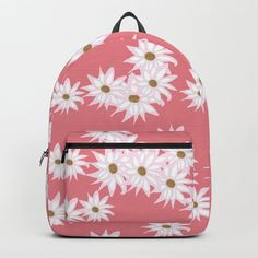 """Designing our premium Backpacks is a meticulous process, as Artists have to lay out their artwork on each component. One size fits all men and women, with heavy-duty construction that's able to handle the heavy lifting for all your school and travel needs.     - Standard unisex size: 17.75"""" (H) x 12.25"""" (W) x 5.75"""" (D)   - Crafted with durable spun poly fabric for high print quality   - Interior pocket fits up to 15"""" laptop   - Padded nylon back... D Craft, Designer Backpacks, One Size Fits All, Fashion Backpack, My Design, Laptop, Handle, Construction, Artists"""