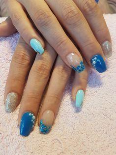 Acrílico nail art My Nails, Beauty, Finger Nails, Beauty Illustration