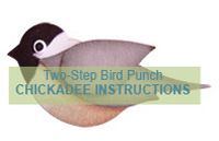 Tutorial on how to make a Chickadee used the Stampin Up Bird Punch.  Simply beautiful bird!