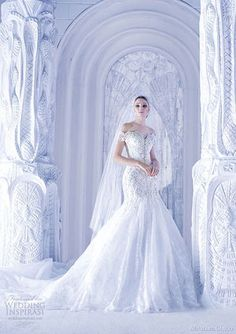 美しすぎる!ゴージャス&セクシー『ウェディング・ドレス』集❤️80枚 - NAVER まとめ