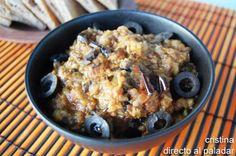 Esta receta de Caviar de berenjenas es una elaboración típica de la cocina marroquí que se degusta muy fría, lo que la hace ideal para disfrutar en estos día...