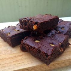 triple-chocolate-flourless-brownies-coconom More