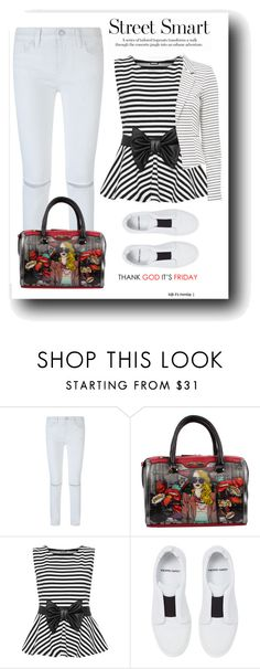 """Street Smart"" by nightowl59 ❤ liked on Polyvore featuring Rebecca Minkoff, Nicole Lee, WearAll and Pierre Hardy"