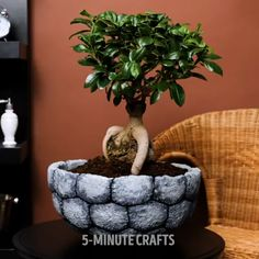 A bit of cement mixed with imagination can make your home look amazing. Diy Crafts Hacks, Diy Home Crafts, Diy Arts And Crafts, Diy Craft Projects, Creative Crafts, Fun Crafts, Cement Art, Concrete Crafts, Ideias Diy