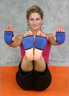 If i did yoga, i'd need these!   14. Yoga-SYZ's Yoga Paws Those who don't like lugging around their yoga mats when they travel may want to look into Yoga-SYZ's Yoga Paws. Lightweight and breathable, the mitts slip on over your hands and the balls of your feet and make for travel-friendly exercise. MSRP: $29.95 Product details: Yoga Paws