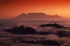 Table mountain Cap Town, South Africa <3