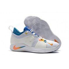 low priced 602e4 18b53 Nike PG 2 Mens WhiteBlue Multi-Color 2018