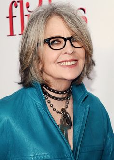 "Diane Keaton attends the ""5 Flights Up"" New York premiere at BAM Rose Cinemas on April 30, 2015 in New York City."