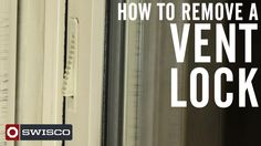 A quick video on how to remove and replace those old vent locks!
