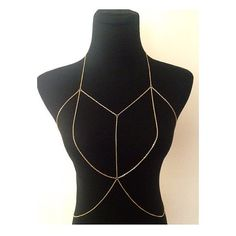 Nieuwe dubbele gelaagde Bralette Body ketting in goud of zilver
