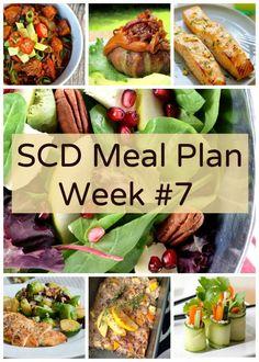 SCD Meal Plan Week #7