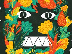 Dribbble - the beast within by Aviel Basil
