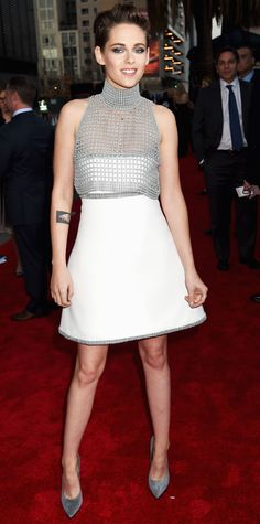 Starry Extravaganza! 2014 Hollywood Film Awards Red Carpet Fashion - KRISTEN STEWART from #InStyle