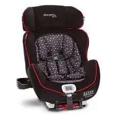 True Fit Retro C670c Car Seat by First Years. $200     The True Fit Premier Rebound (model C670) was awarded Five Stars in both the rear- and forward-facing modes, the maximum awarded by NHTSA.  The C670 model features smaller bottom rails and the patented Rebound Energy Management system, a flip-up rebound bar that actually helps manage the rebound in the unlikely event of a crash. Pull the bar forward and it snaps in place with your rear-facing installation, and flip it back when you move…