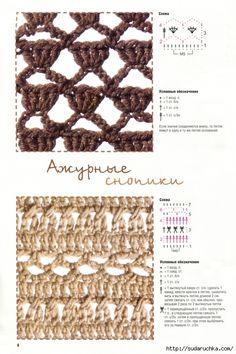 Maravillosa presentación muy selectiva de un muestrario muy importante en el manual de toda tejedora