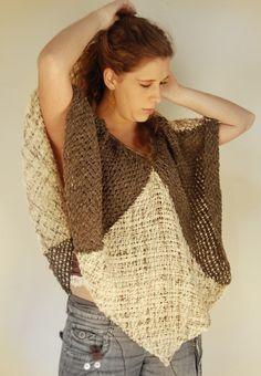 Loom Weaving, Hand Weaving, Tapestry Loom, Bolero, Tear, Arm Knitting, Weaving Patterns, Crochet Basics, Digital Pattern