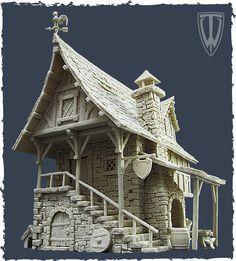 Fantasy terrain by Tabletop World (14th September 2013: Blacksmith's Forge…