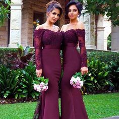 Madrinhas de Marsala! Lindaaaas! O que acharam? #universodasnoivas #noiva #weddings #wedding #weddingday #weddingdress #casamento #casamentos #vestido #vestidos #vestidodenoiva