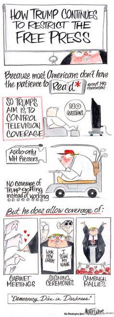 Trump vs. the free press - The Washington Post