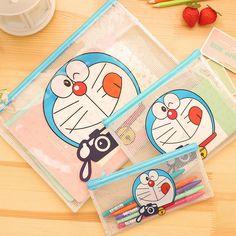 Cartoon image pen bag Doraemon design baby shower return gift kids birthday party favors