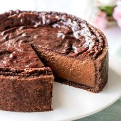 The recipe for chocolate flan. Cheesecake Mousse Recipe, Chocolate Mousse Cheesecake, Easy Cheesecake Recipes, Best Dessert Recipes, Cupcake Recipes, Mango Pudding, Oreo Pudding, Apple Desserts, Chocolate Desserts