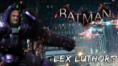 Batman Arkham Knight: Lex Luthor Easter Egg!
