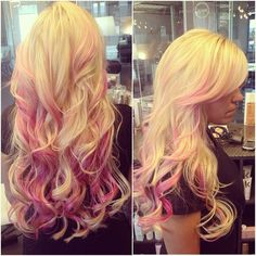 Definitely gonna have to do this but with black instead of blonde, blonde is not my color :P
