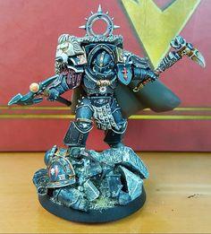 Warhammer 40k Figures, Warhammer Paint, Warhammer Models, Warhammer 40k Miniatures, Warhammer 40000, Dark Angels 40k, Grey Knights, Fantasy Model, Space Wolves