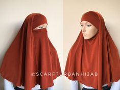 Terra-cotta Transformer hijab, niqab transformer, traditional nikab hijab, 1 piece hijab, ready to wear hijab Muslim Wedding Dresses, Muslim Dress, Hijab Dress, Dress Wedding, Hijab Niqab, Moroccan Dress, Hijab Tutorial, Islamic Clothing, Wedding Photography Poses