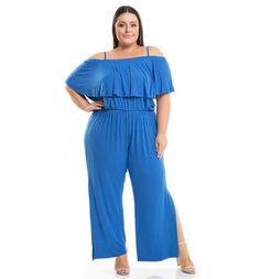 29 Macacão para Gordinhas | Macacões Incríveis Você vai AMAR! Moda Praia Plus Size, Moda Plus Size, Looks Plus Size, Ideias Fashion, Jumpsuit, Inspiration, Dresses, Link, Products