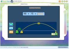 Math coach s corner free number sense technology tool jumping on an