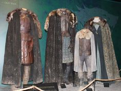 There were also plenty of costumes worn by the Stark family ...