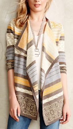 love this patterned cardigan #anthrofave http://rstyle.me/n/n38r6r9te