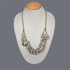 Featuring this beautiful Trendy White stone Necklace in our wide range of Necklines. Grab yourself one Now!