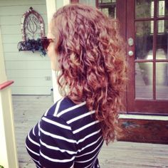 Curly Hair, long layers