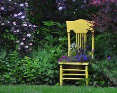 "From Elfishone: ""Vintage Chair"""