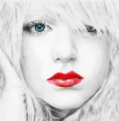 color portrait drawing