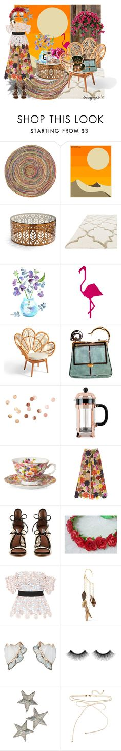 """""""outdoor room"""" by daizyjayne ❤ liked on Polyvore featuring interior, interiors, interior design, home, home decor, interior decorating, Jazzberry Blue, Frontgate, Grandin Road and Balmain"""