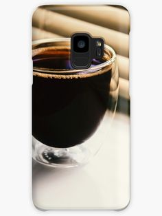 'Black Coffee image' Case/Skin for Samsung Galaxy by Narkusdesign