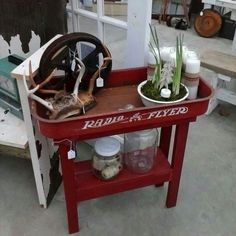 repurposed wagon