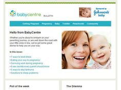 Pregnancy, baby and toddler health information at BabyCentre