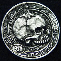 ROBERT MORRIS HOBO NICKEL - BY THE CANDLELIGHT - 1936 BUFFALO NICKEL