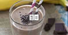 Chocolate Green Smoothie #smoothies #recipe #healthy