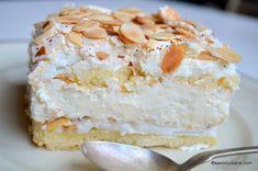 Prajitura Verdens Beste - cea mai buna din lume   Savori Urbane Vanilla Cake, Food And Drink, Cheese, Sweet, Desserts, Candy, Tailgate Desserts, Deserts, Postres