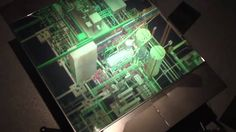 Net Engineering Power Plant Zebra Imaging ZScape® 3D Holographic Print